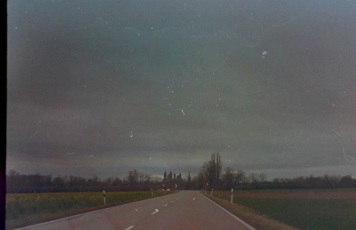 Auf dem Weg nach Speyer
