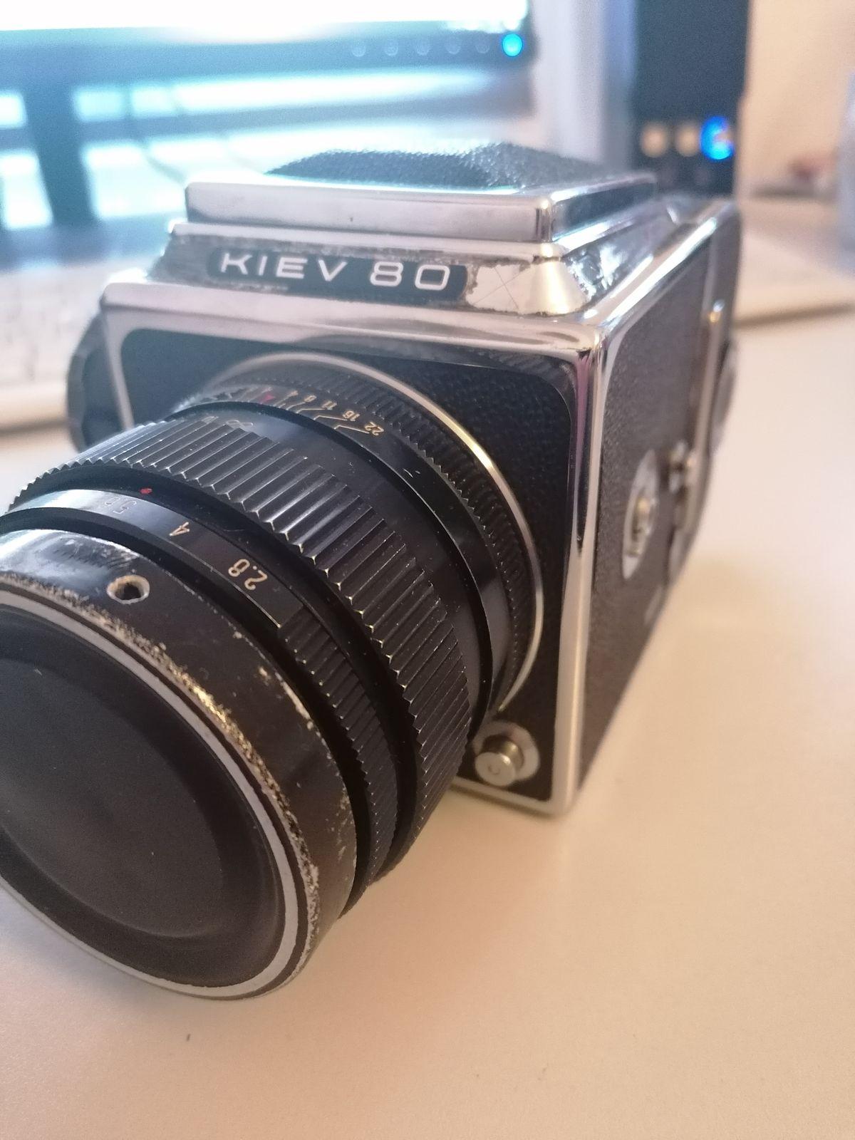 Kiev80, meine russische Mittelformatkamera