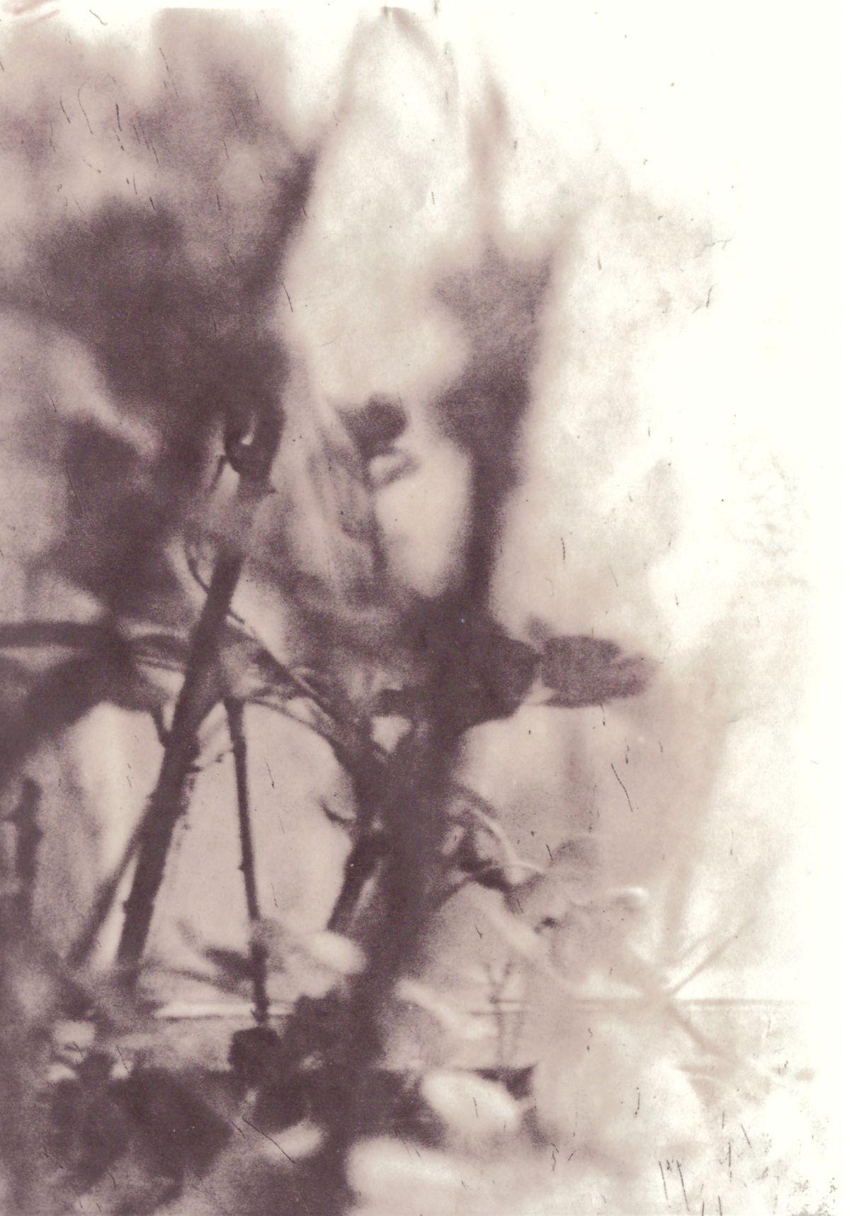 Hipsterhausen auf ORWO-Dokumentenpapier