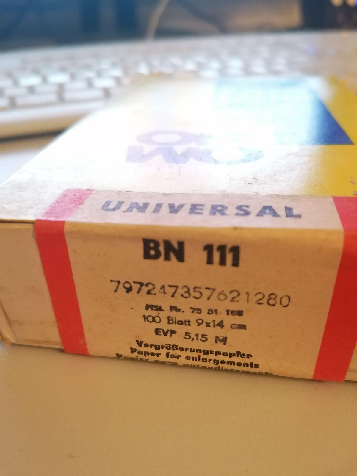 Orwo Universal BN111